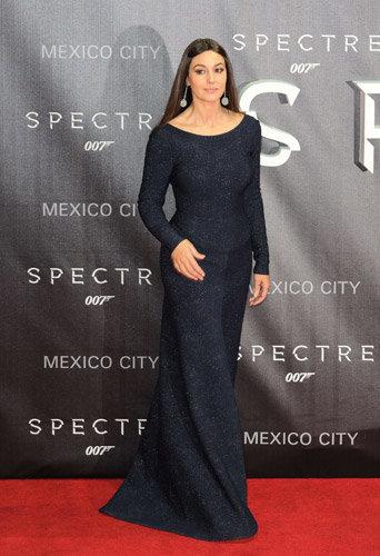 Monica Bellucci à l'avant-première de Spectre à Mexico, le 2 novembre 2015