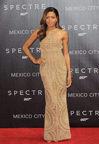 Naomie Harris à l'avant-première de Spectre à Mexico, le 2 novembre 2015