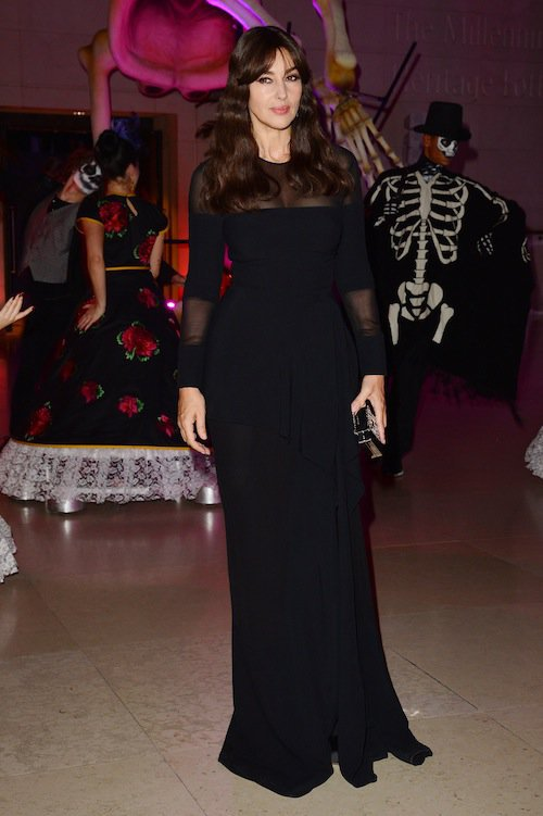 Monica Bellucci à l'after-show de Spectre à Londres, le 26 octobre 2015 !