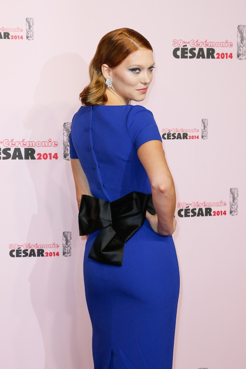 Léa Seydoux à la 39e cérémonie des César à Paris, en février 2014