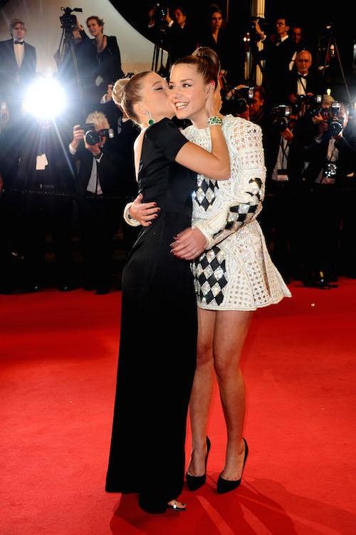 Léa Seydoux et Adèle Exarchopoulos à Cannes pour La Vie d'Adèle