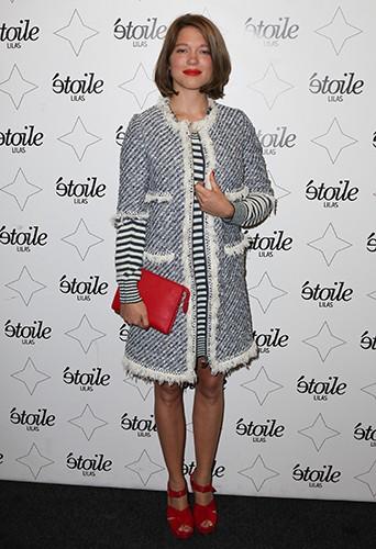 Léa Seydoux à Paris le 27 août 2013