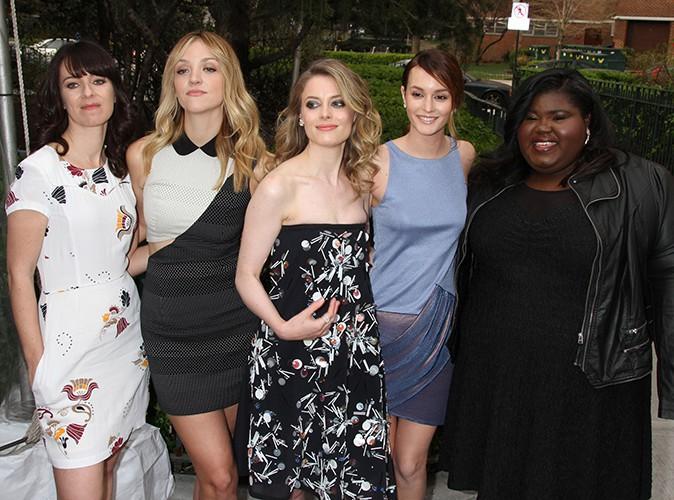 Susanna Fogel, Abby Elliot, Gillian Jacobs, Leighton Meester et Gabourey Sidibe à New York le 18 avril 2014