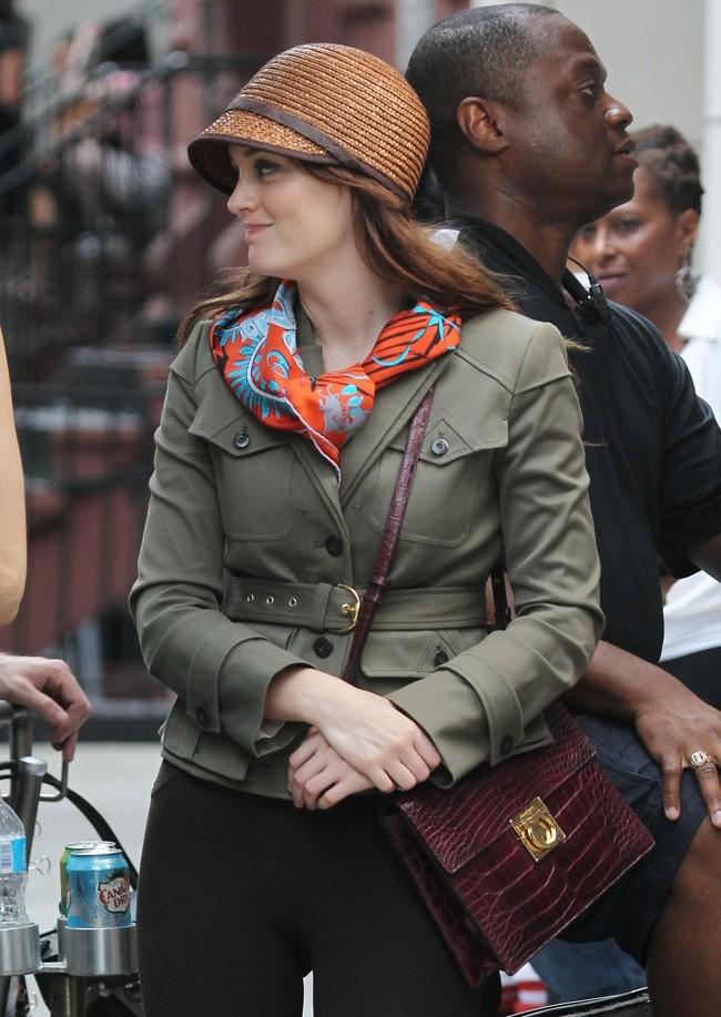 Leighton Meester le 10 août 2012 à New York