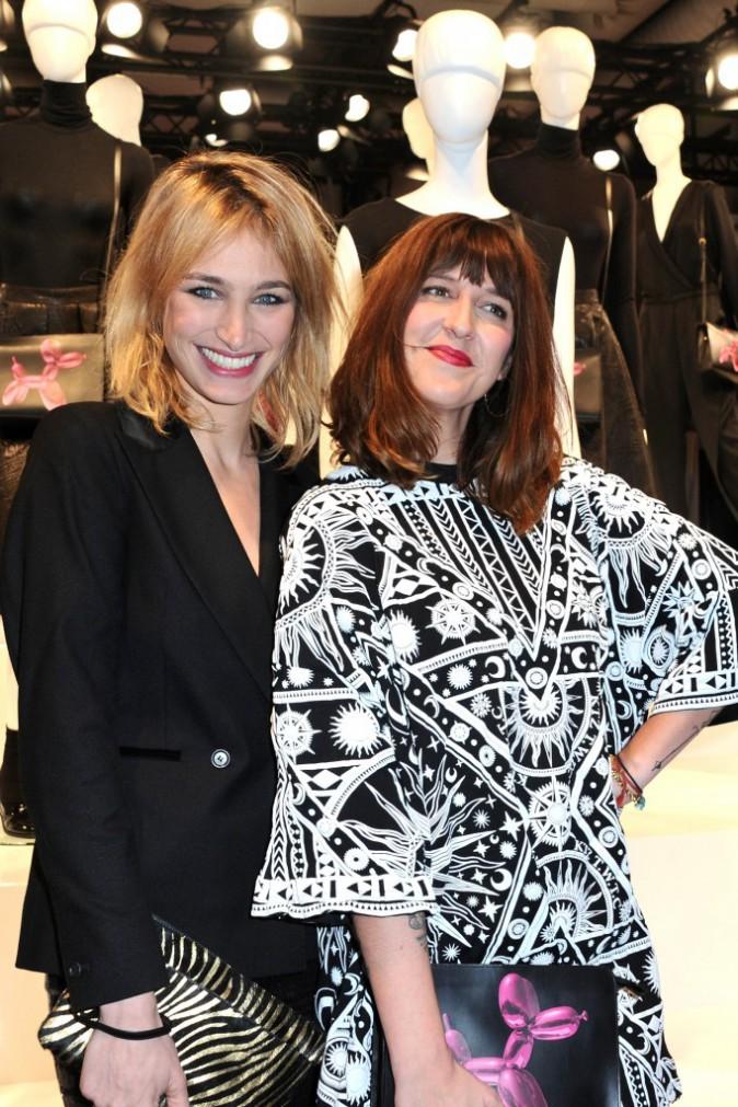 Pauline Lefèvre et Daphné Bürki