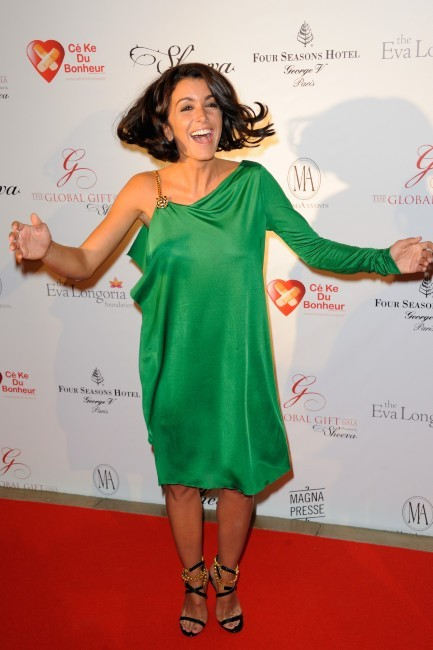 Jenifer lors du Global Gift Gala à Paris, le 28 mai 2012.