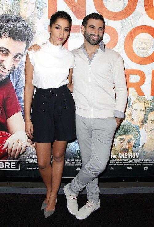 Photos : Leïla Bekhti et Kheiron : duo complice pour l'avant-première de Nous trois ou rien