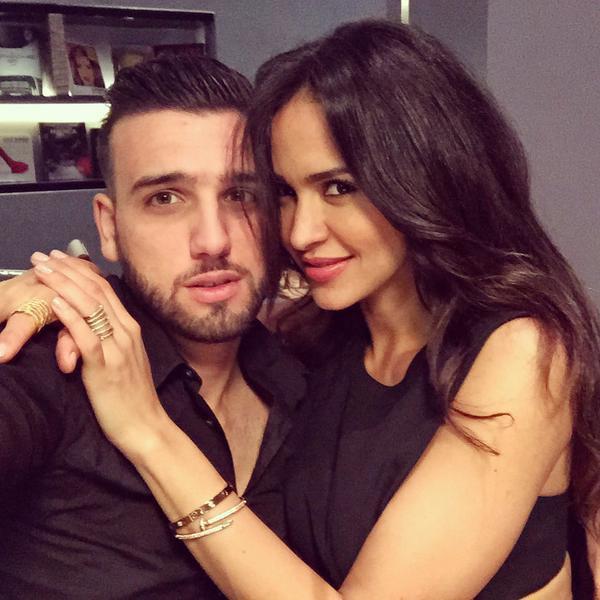 Leïla Ben Khalifa et Aymeric : tendres retrouvailles...