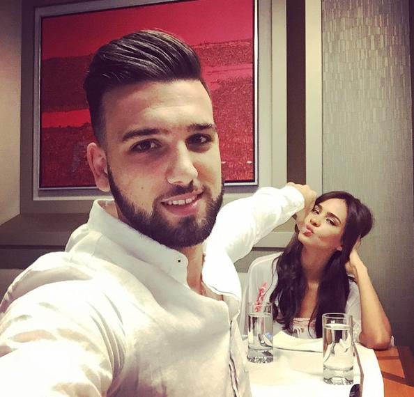 Leila Ben Khalifa et Aymeric