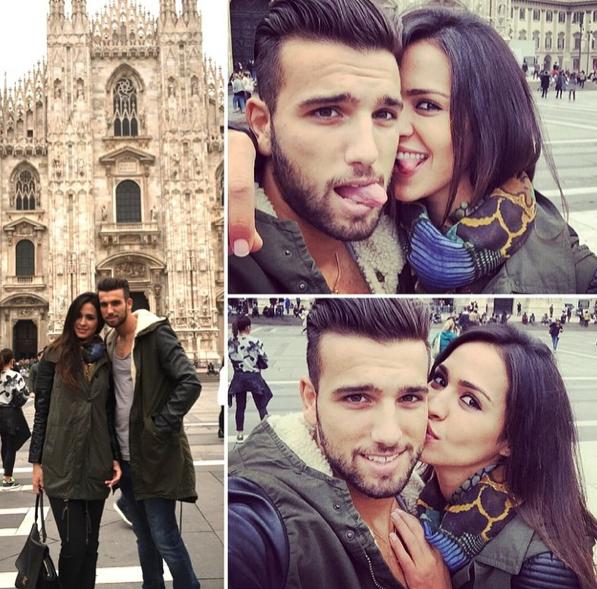Photos : Leila et Aymeric : c'est l'amour fou à Milan, malgré la polémique !