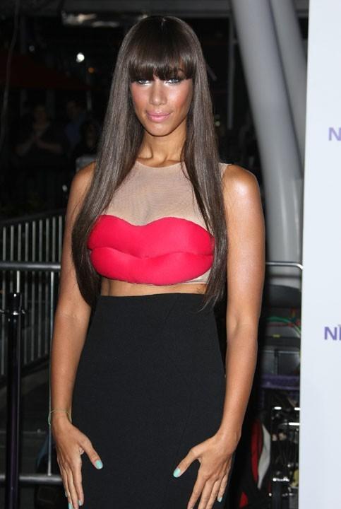 Leona Lewis à Los Angeles pour la première du film Never Say Never, le 8 février 2011.
