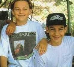 Leonardo DiCaprio et Tobey Maguire au début de leur amitié