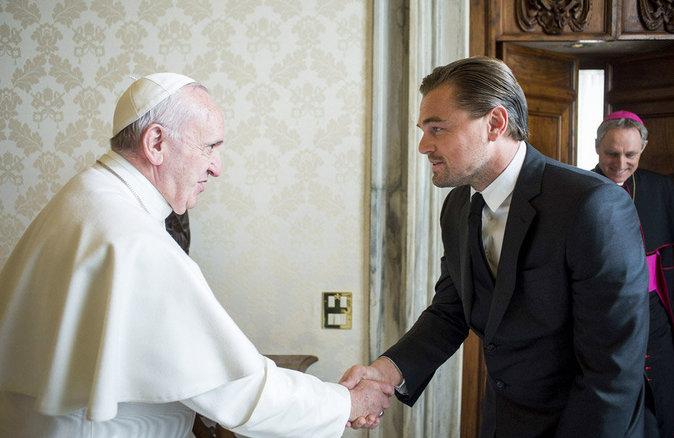 Leonardo DiCaprio : rencontre au sommet avec le pape François