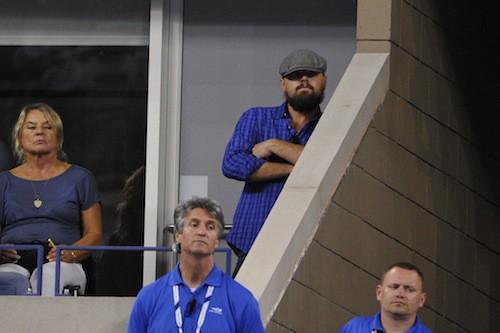 Photos : Leonardo DiCaprio : un ours infiltré à l'US Open !