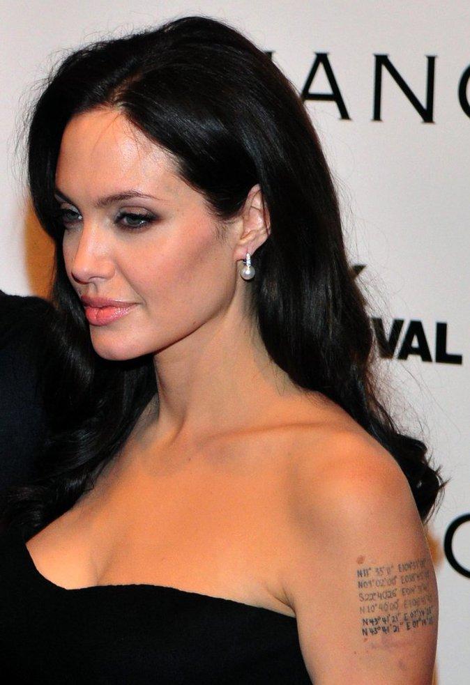 Les coordonnées latitude/longitude du lieu de naissance de ses enfants d'Angelina Jolie