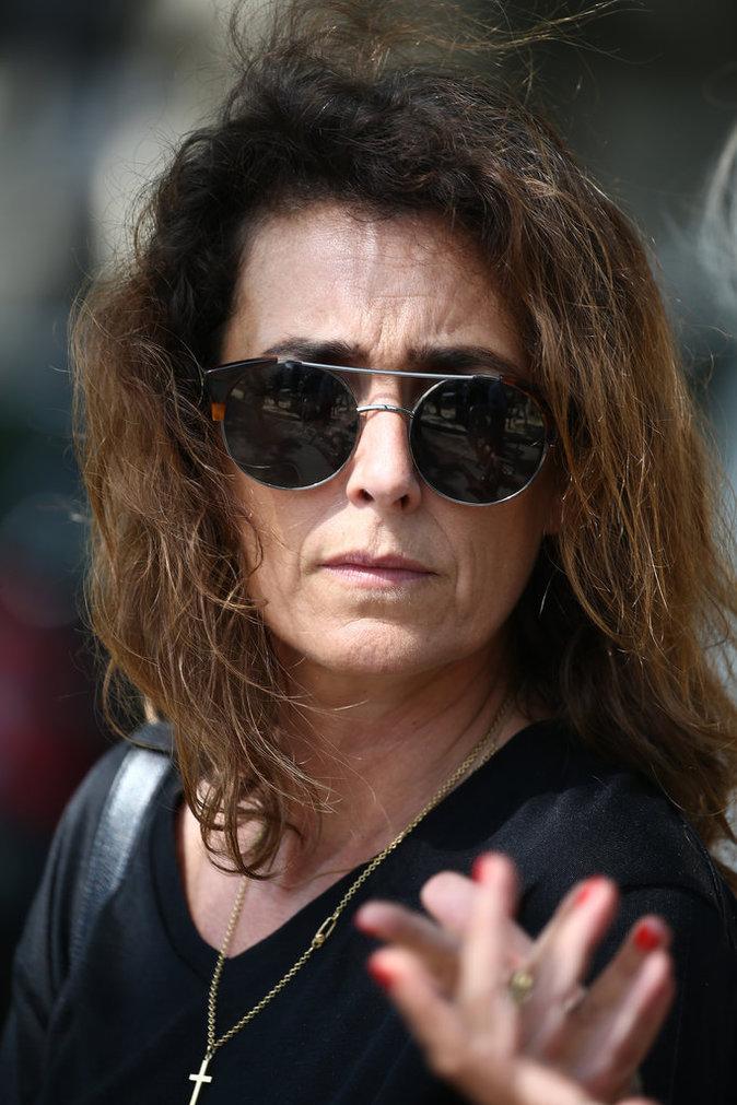 Mademoiselle Agnès aux obsèques de Sonia Rykiel, le 1er septembre 2016
