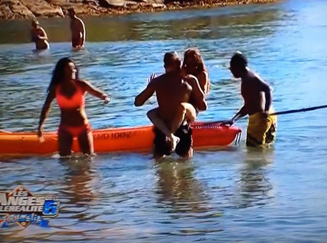 Shanna, Julien, Dania et Sofiane à la plage