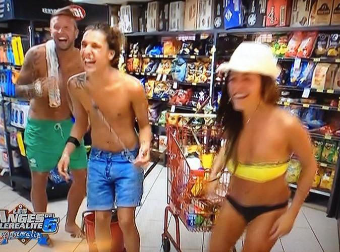 Eddy, Benjamin et Anaïs font carnage au supermarché !