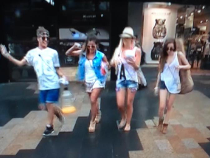 Eddy, Amélie, Dania, Anaïs en mission caritative