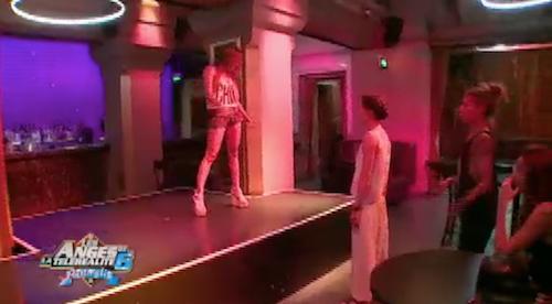 Eddy et Anaïs réussissent leur casting de danse