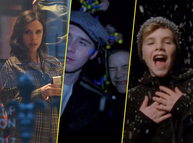 Les Beckham réunis dans le clip de Noël de Cruz... sans Victoria !