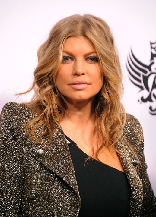 Fergie lors du Peapod Benefit Concert au Music Box à Hollywood, le 10 février 2011.