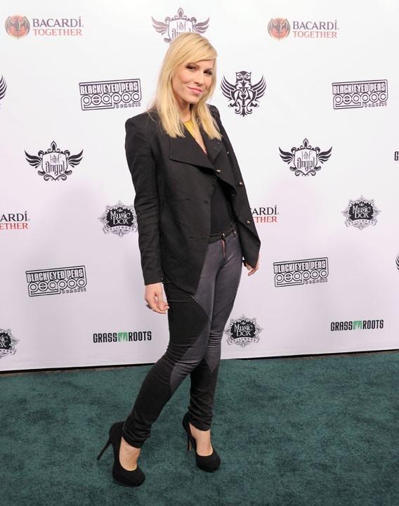 Natasha Bedingfield lors du Peapod Benefit Concert au Music Box à Hollywood, le 10 février 2011.