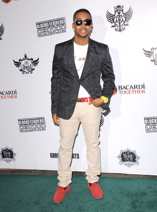 Omarion lors du Peapod Benefit Concert au Music Box à Hollywood, le 10 février 2011.