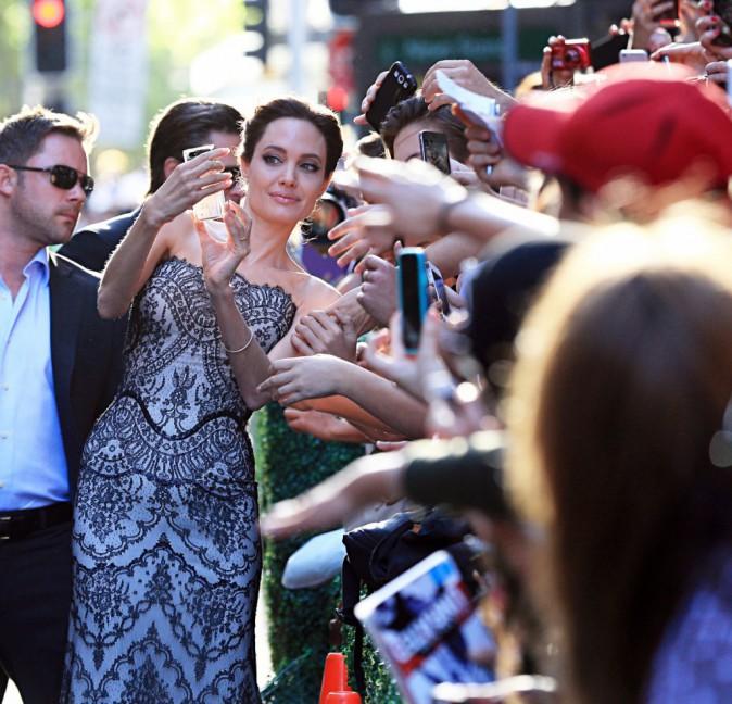 Angelina Jolie à Sydney le 16 novembre 2014