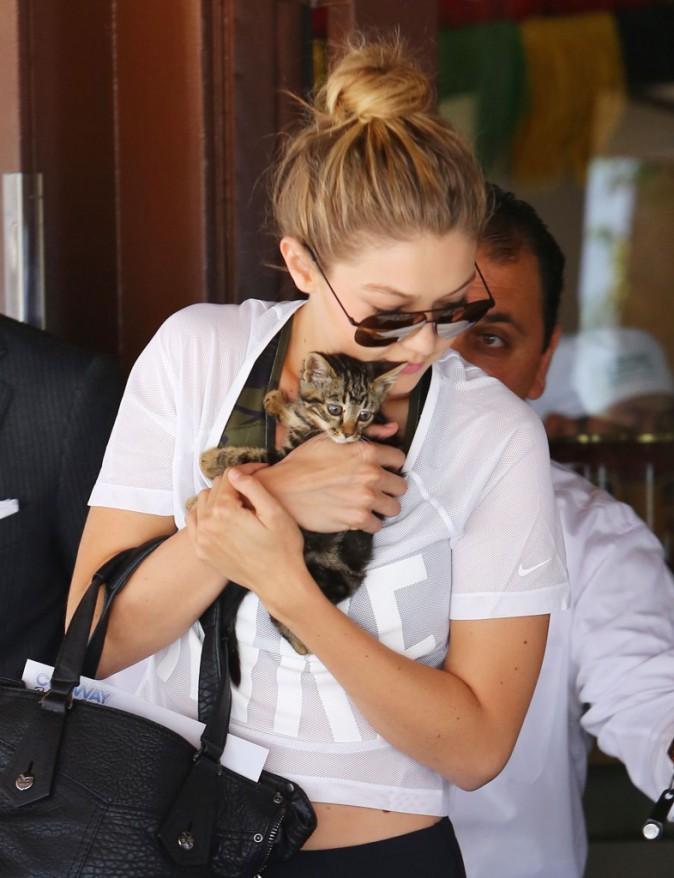 Gigi Hadid le 15 juin 2015