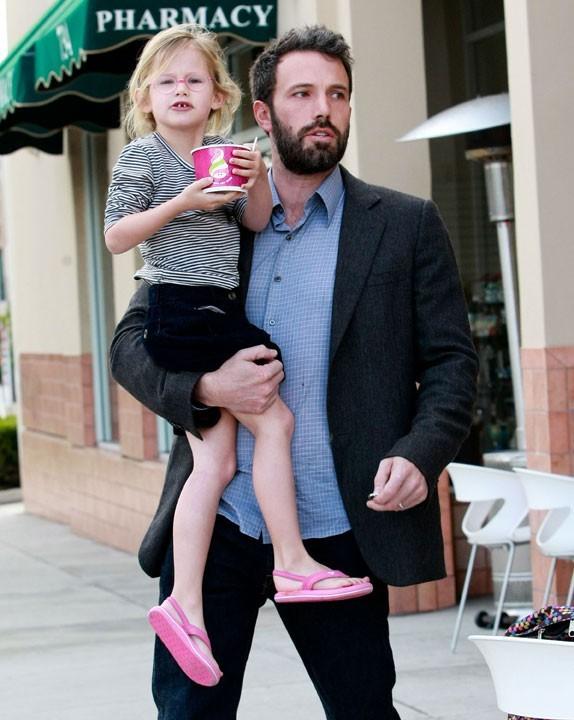 Photo : Violet, la fille de Ben Affleck