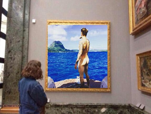 Justin Bieber une oeuvre d'art ?