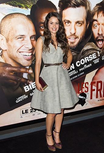 Alice David à Paris le 21 juillet 2014