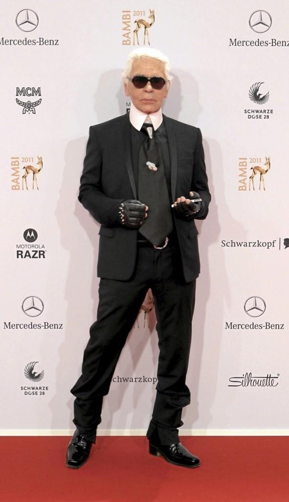 Karl Lagerfeld après : quand je serai mince, je détesterai les gros !