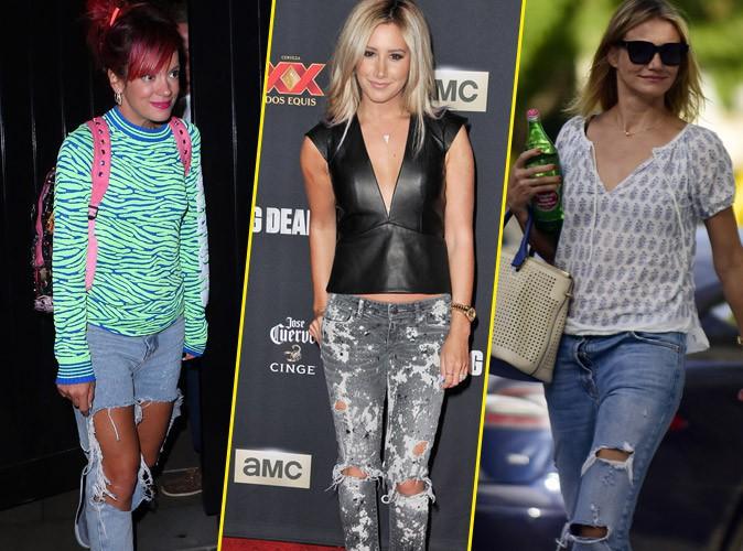 Ces stars qui déchirent... leurs jeans !