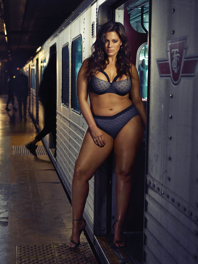 Ashley Graham, mannequin grande taille