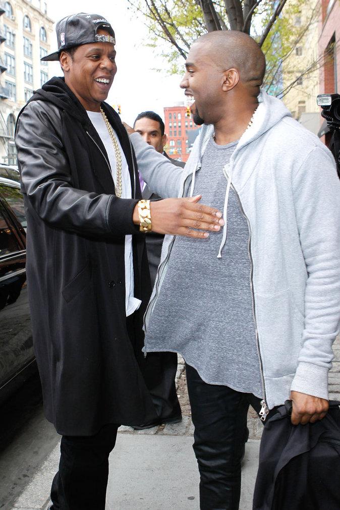 Si leurs femmes sont ennemis, Jay-Z et Kanye West sont amis depuis les années 90