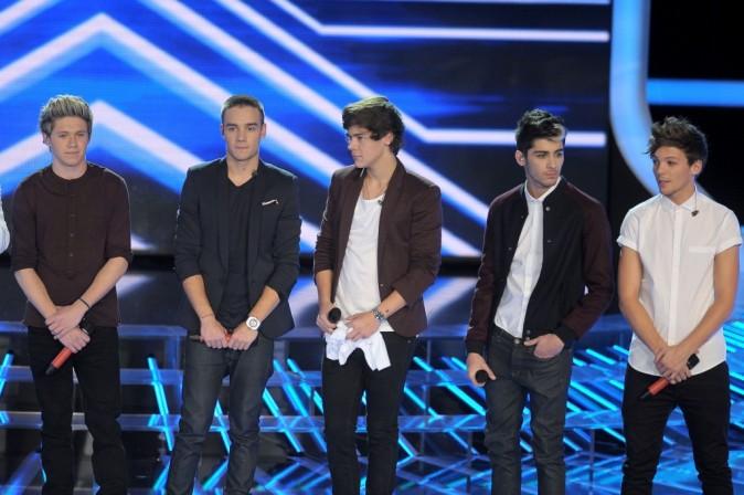 Les cinq garçons dans le vent