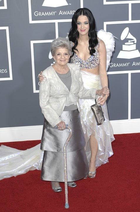 Katy Perry et sa grand-mère