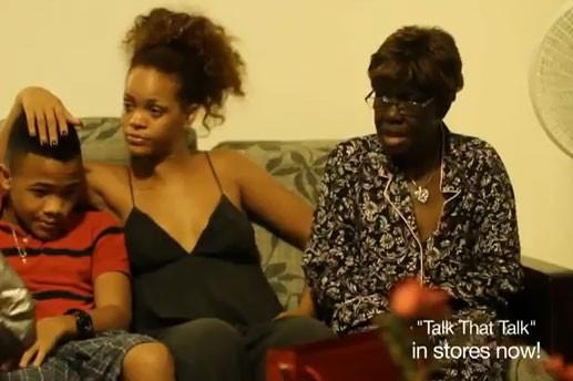 Rihanna et sa grand-mère