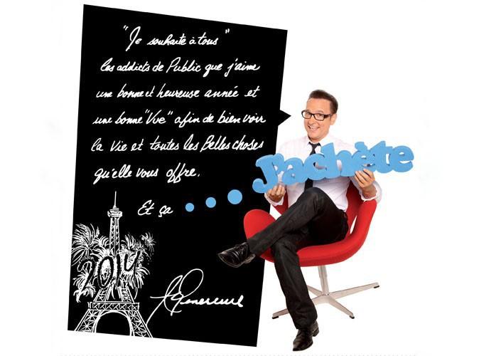 Jean-Marc Généreux souhaite une bonne année 2014 à Public !