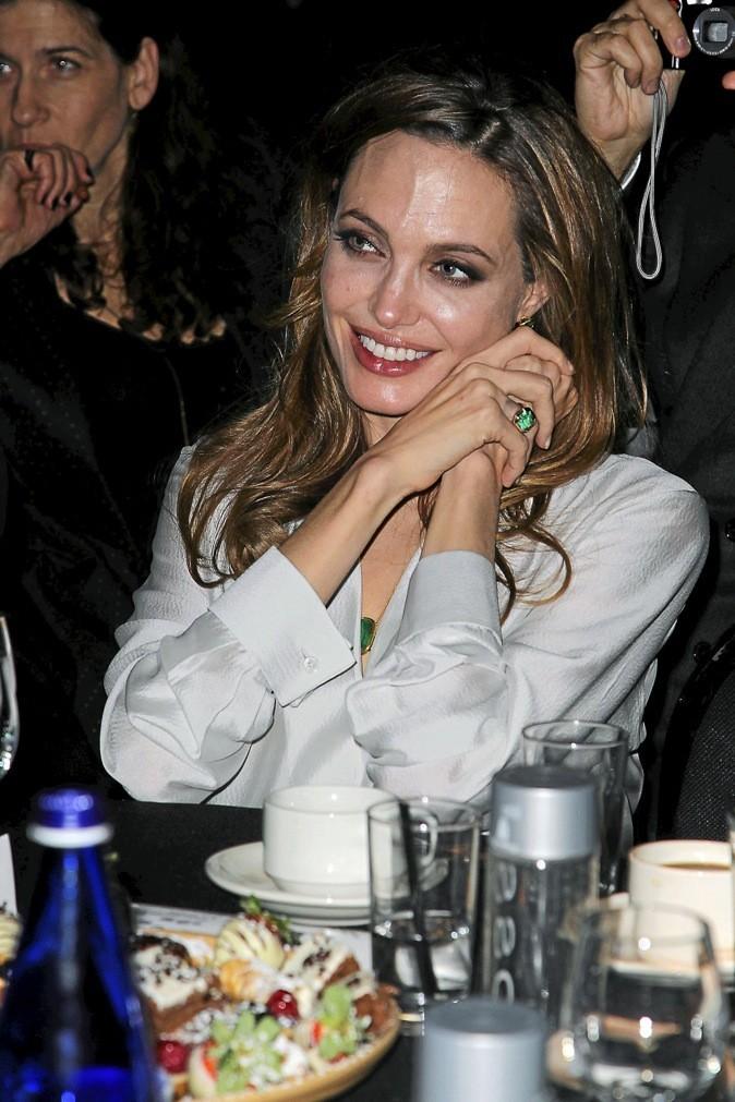 Les veines d'Angelina Jolie