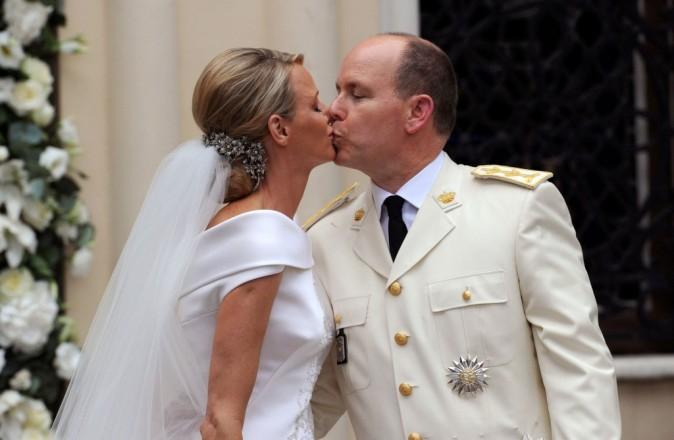 Albert de Monaco et Charlène Wittstock