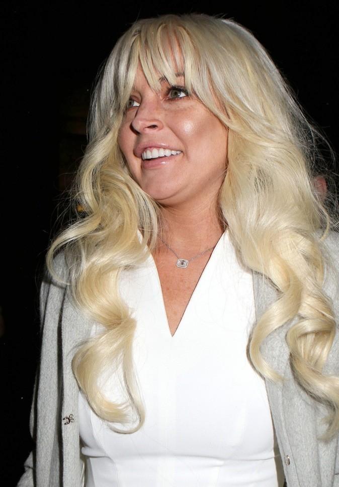 Lindsay Lohan n'est pas à son avantage !