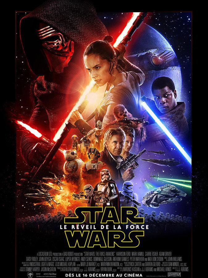 14. STAR WARS VII : LE REVEIL DE LA FORCE : 2 705 096 entrées