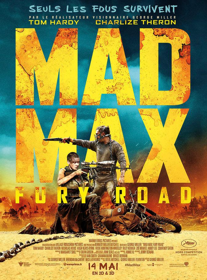 20. MAD MAX : FURY ROAD : 2 356 085 entrées