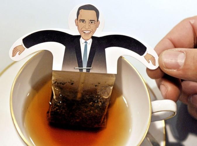 Les sachets de thé Barack Obama