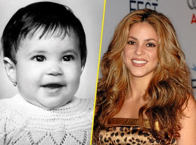 Photos star bébé : une tignasse brune pour Shakira !