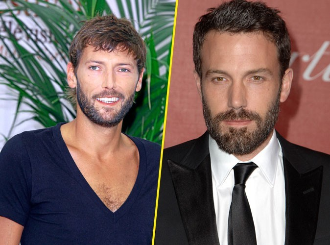 Laurent Kérusoré et Ben Affleck