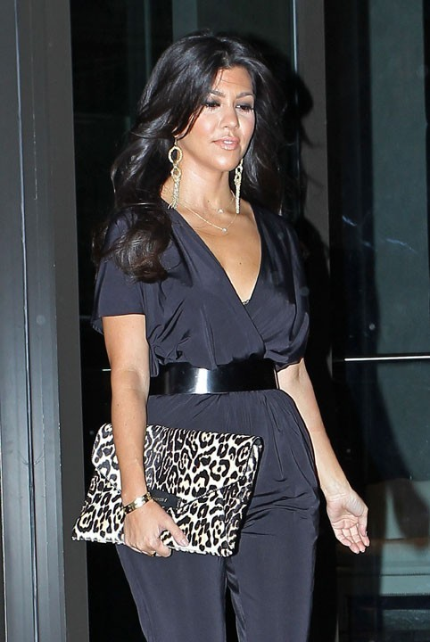 Kourtney Kardashian à New York, le 6 septembre 2011.